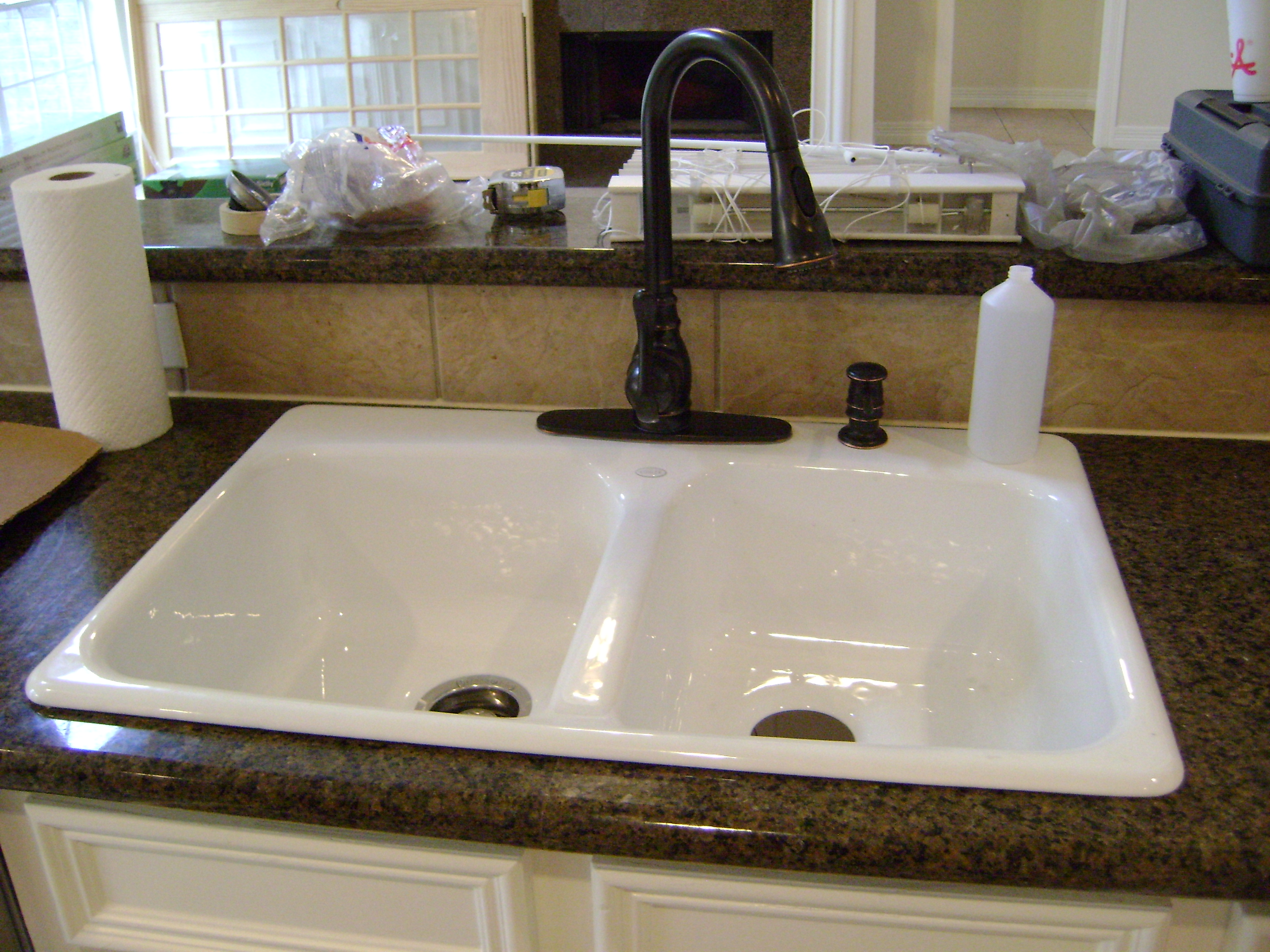 A Home Remodel Series (Part 3-How to replace a kitchen sink and ...