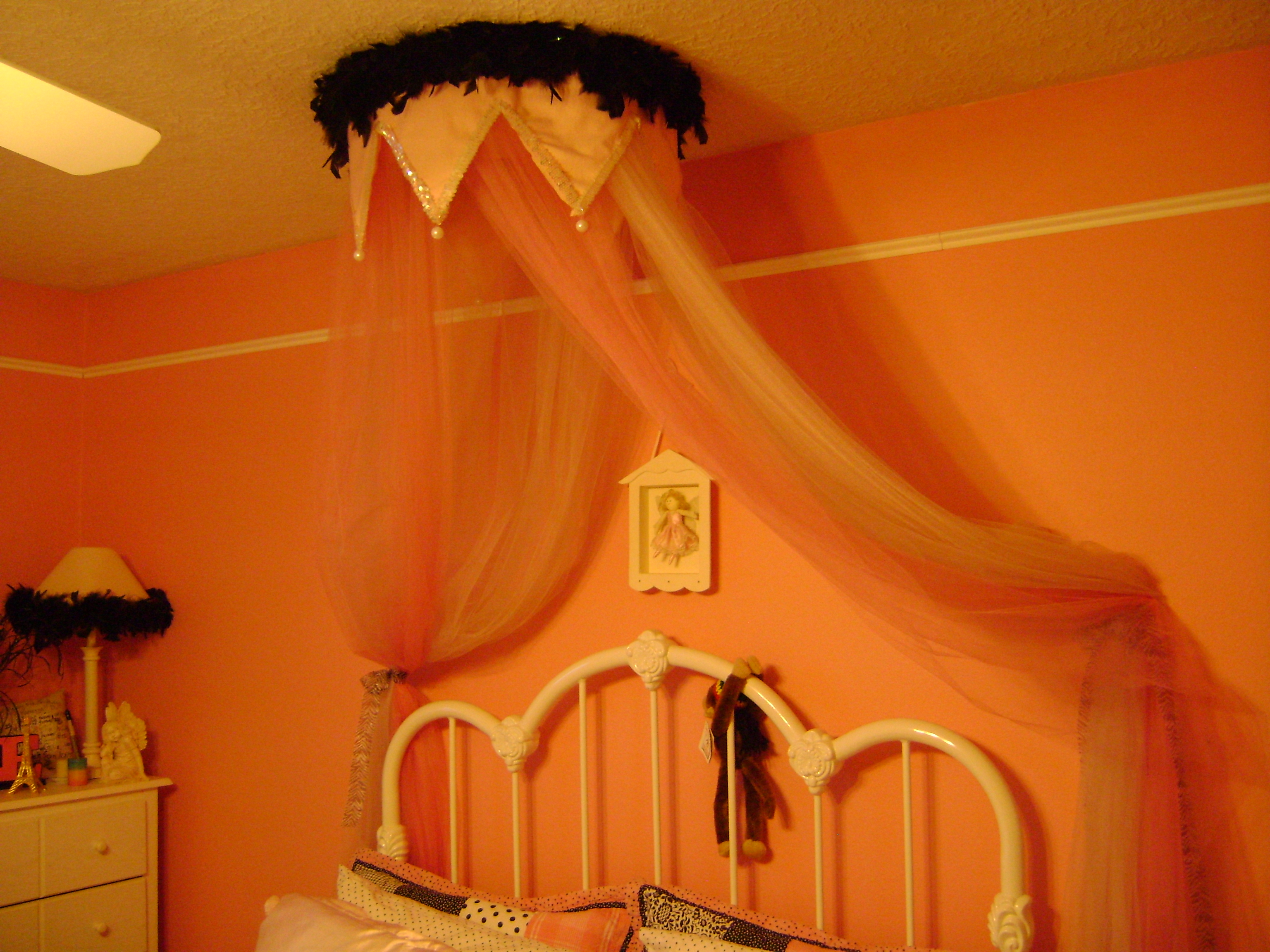 & DIY Bed Canopy Fit For Any Princess | A Girl Can Do It