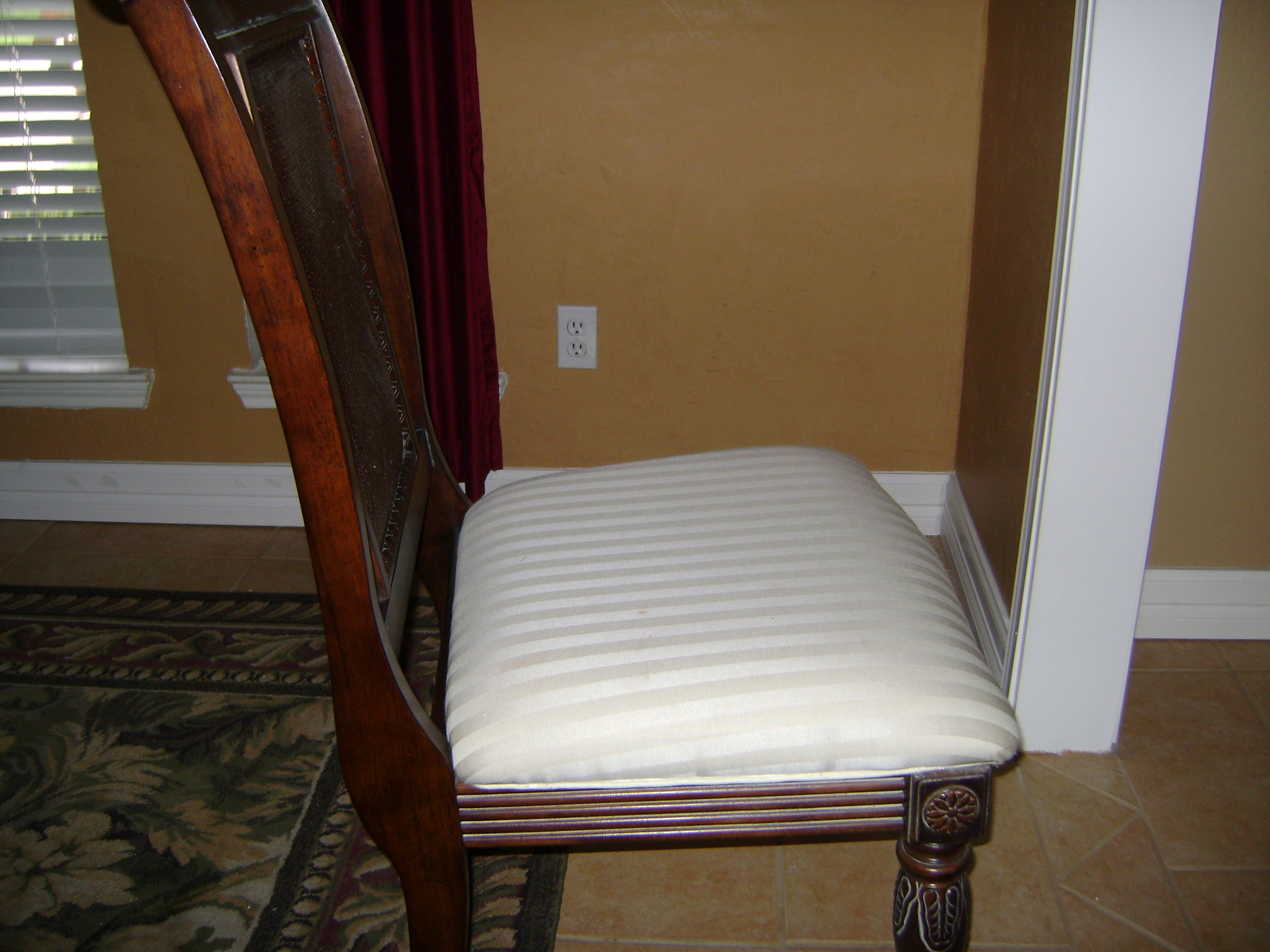 How To Recover Dining Room Chair Seats Chair Pads Cushions
