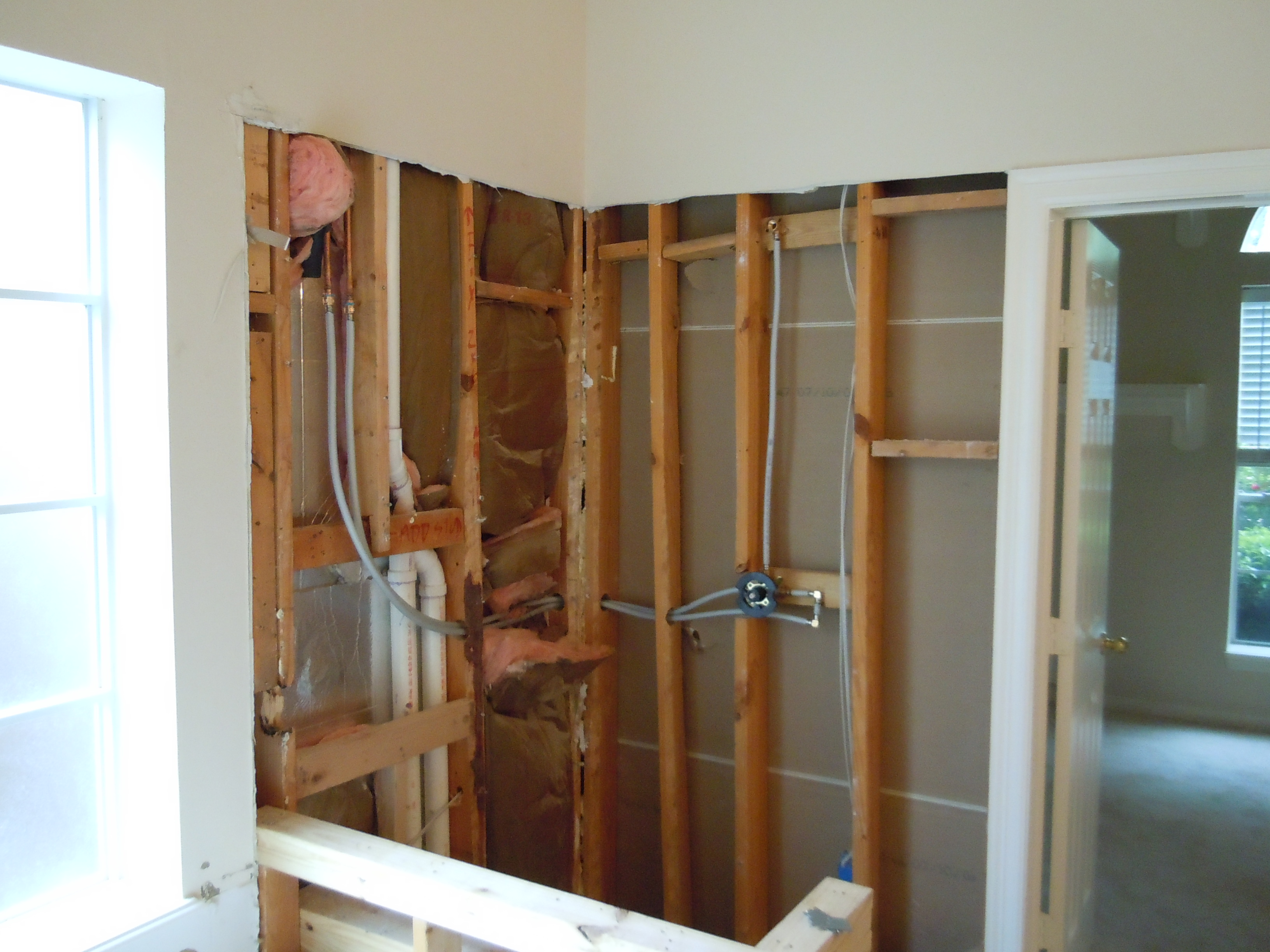 A Home Remodel Series Part 5 Retile A Shower A Girl
