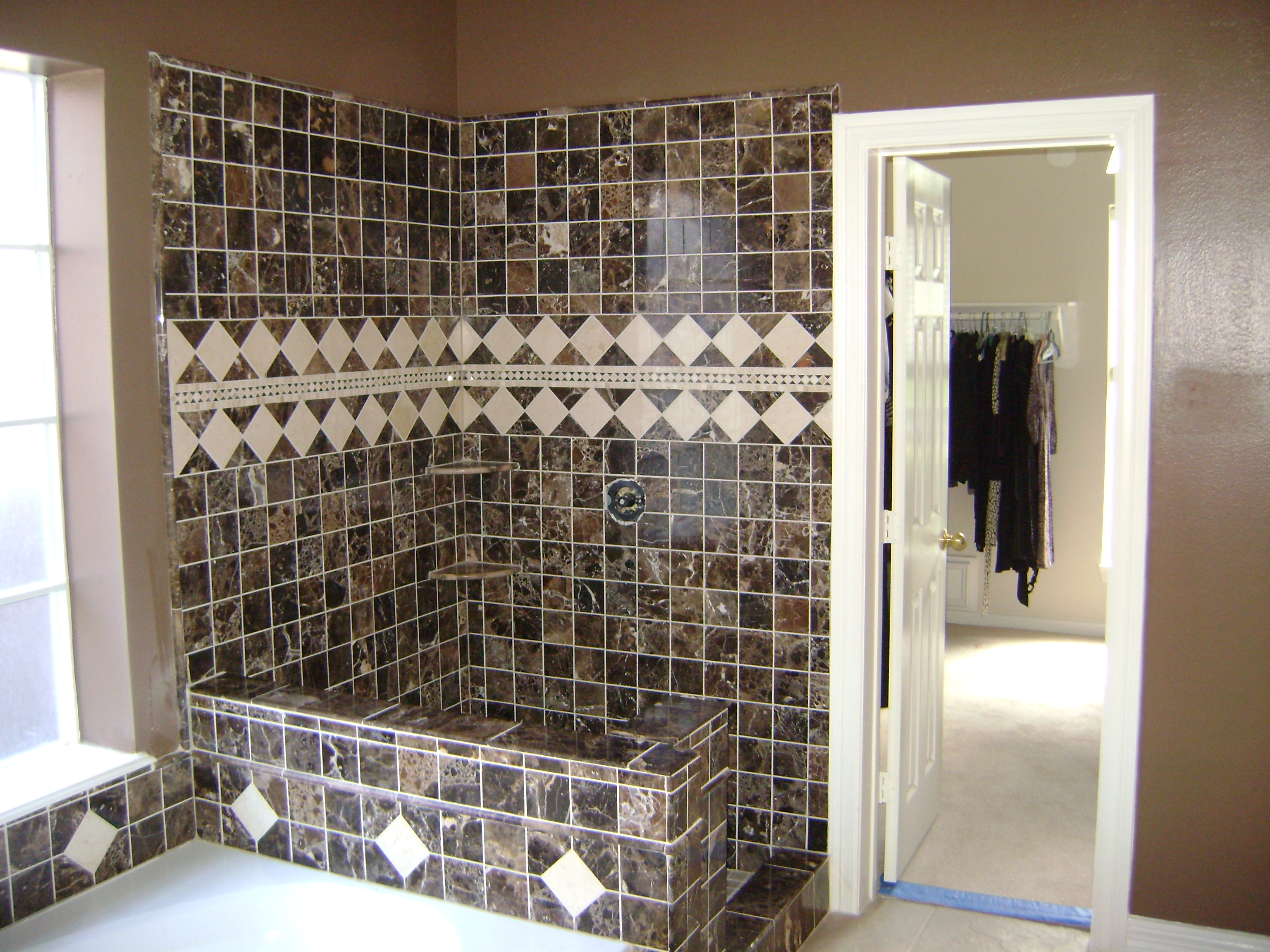 A Home Remodel Series (Part 5-Retile a Shower) | A Girl Can Do It