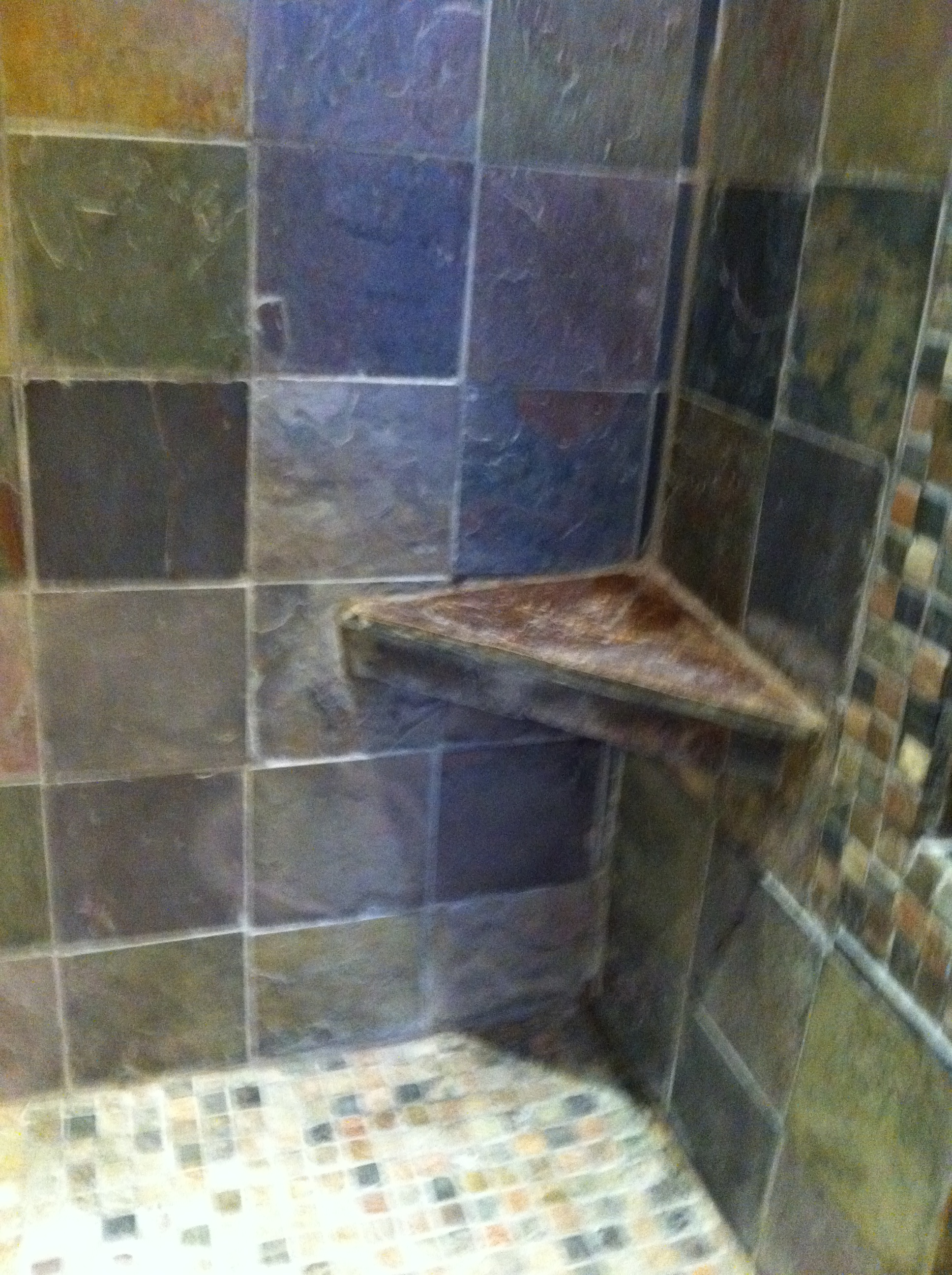 shower shelf
