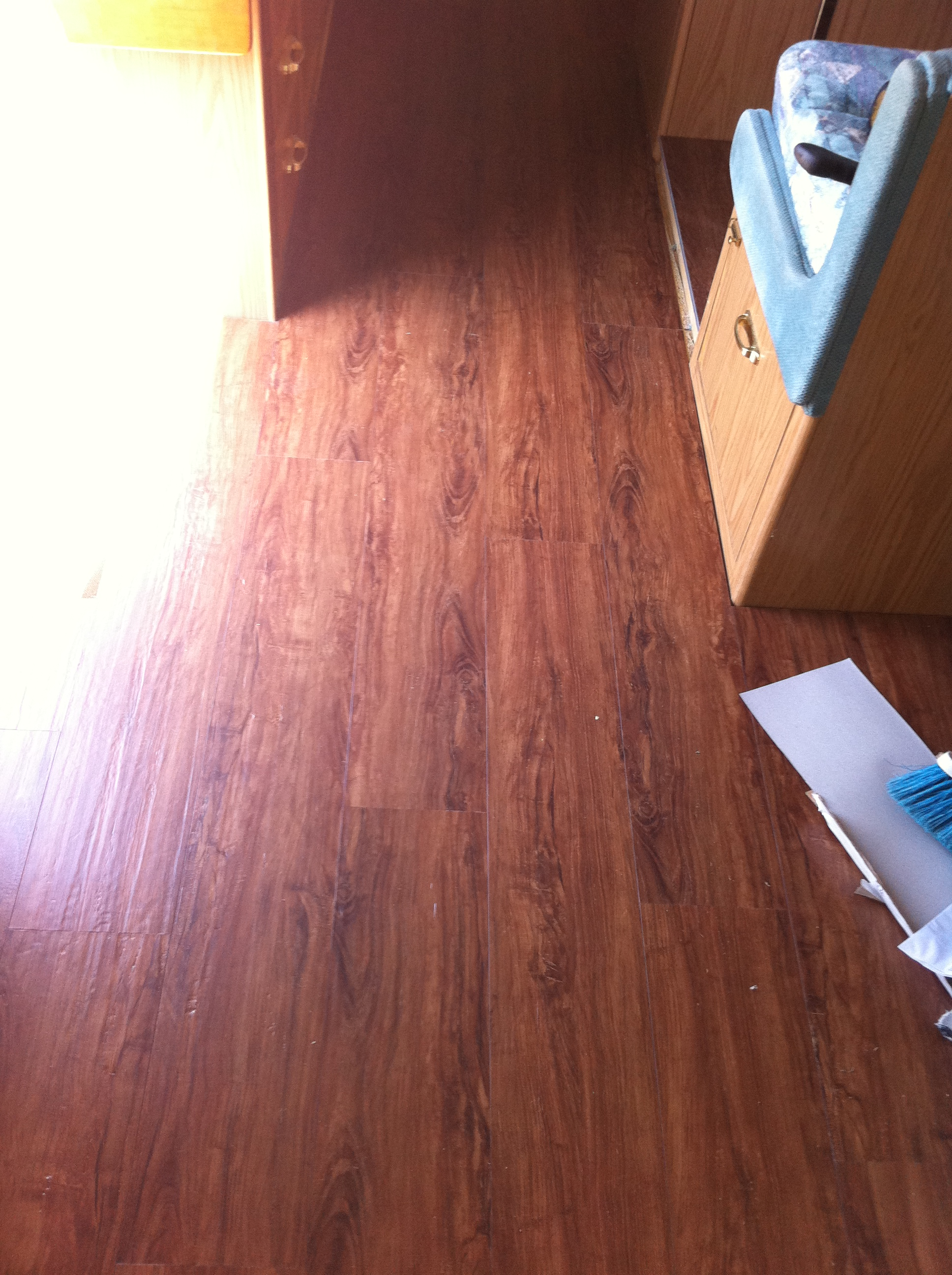 Flooring A Girl Can Do It